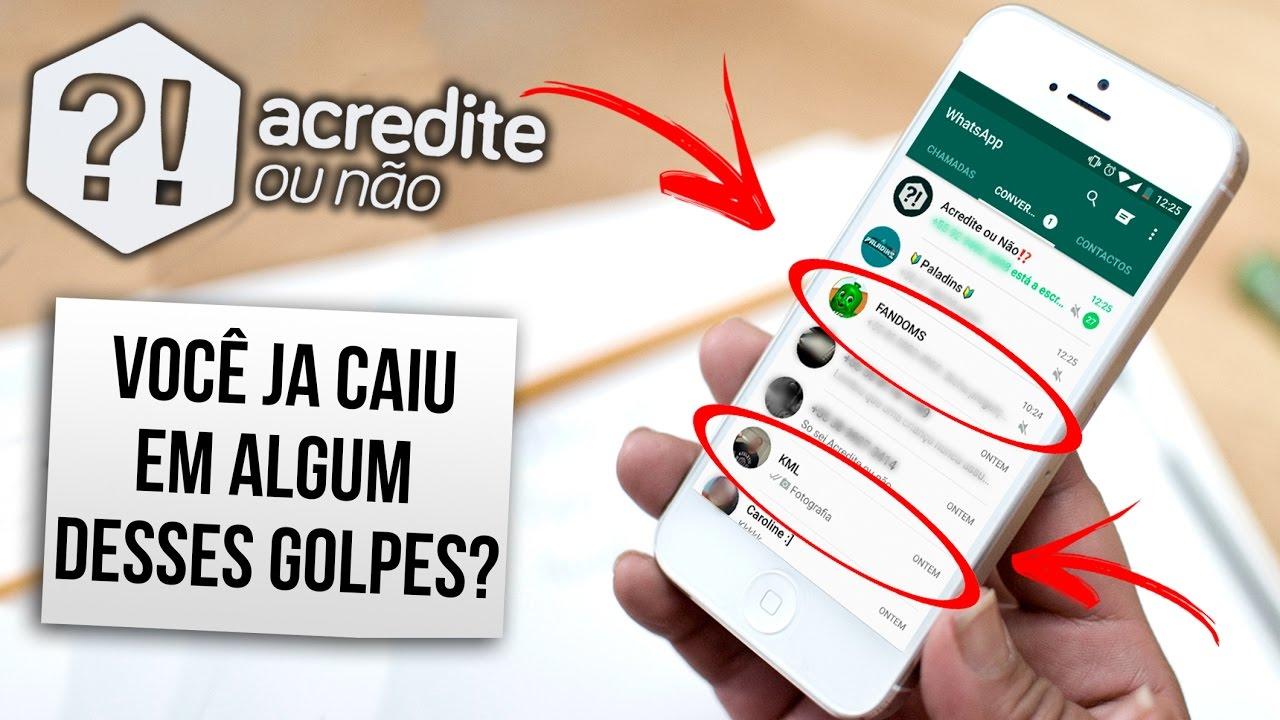 9 golpes do Whatsapp de 2016 que podem acontecer com você
