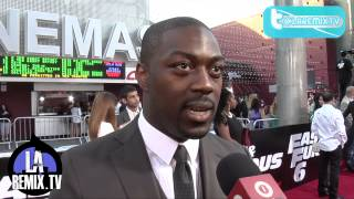 Nonton Interview With David Ajala Movie Premiere on the Red Carpet of Fast And Furious 6 Film Subtitle Indonesia Streaming Movie Download