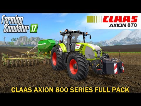 Claas Axion 800 Series Full Pack v1.0.0