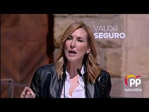 """Acto en Torrelavega Ana Beltrán: """"Nos hemos partido la cara contra el nacionalismo"""""""