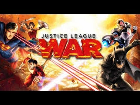 Justice League: WAR bluray unboxing