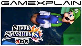 Luigi Easter Egg in Super Smash Bros. 3DS (Green Missile)