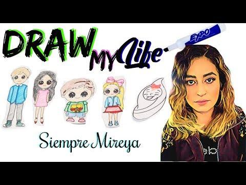 Videos caseros - DRAW MY LIFE DIBUJA MI VIDA (Mi vida en Dibujos)-Siempremireya
