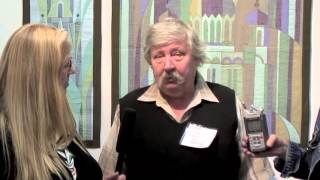 Festival of Quilts 2013 - Birmingham UK - Russian Quilter Anatolii Belik - ENGLISH VERSION