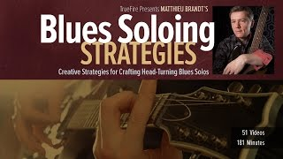 Blues Solo Strategies