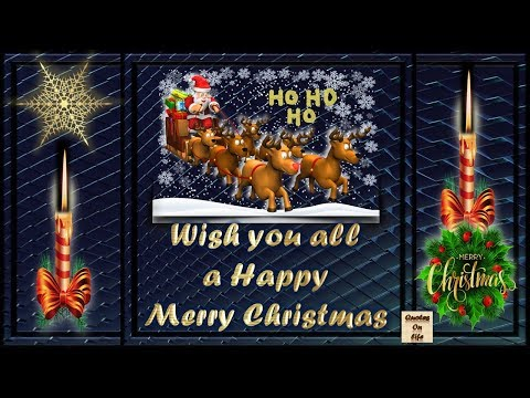 Merry christmas Wishes massage animated ecard greetings whatsapp video with quotes on life,