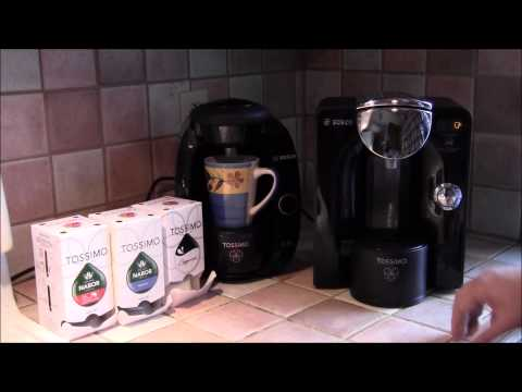 Our review of the Tassimo T55 single serve coffee maker.