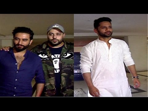 Sidharth Malhotra | Badshah | Shekhar & Many Celebrities Are Spotted At Karan Johar's House
