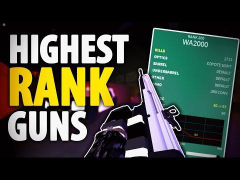 The HIGHEST RANK GUNS in Phantom Forces