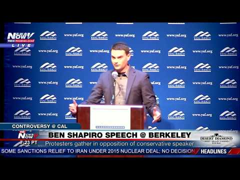 FULL SPEECH: Conservative Ben Shapiro Speaks at UC Berkeley Amid Protests (FNN) (видео)