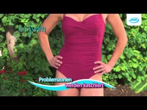 SlimSwim Damen-Badeanzug