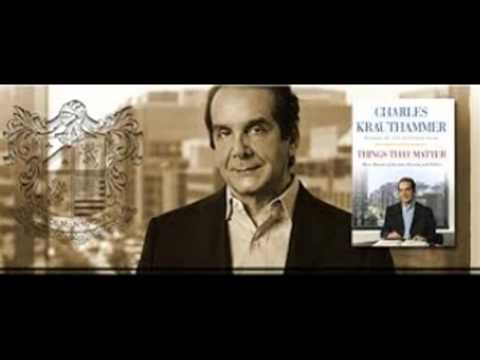 krauthammer books Things That Matter: Three Decades of Passions, Pastimes and Politics