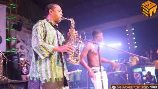 Felabration 2013 Day 2: Femi Kuti Performs Along with Young Artistes -SaharaTV