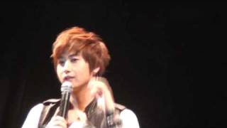 Kyu Saeng Fanmeeting In Thailand Interview