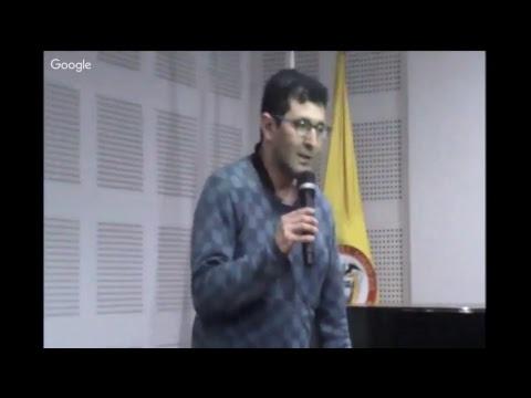 """Presentación del libro """"Duelo en Bogotá"""", profesor Sytze van der Veen"""