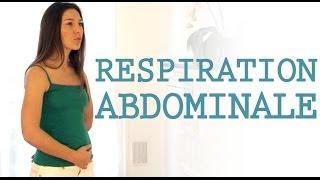 La respiration abdominale en vidéo