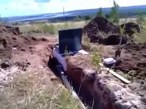 Как связать канализацию и колодец