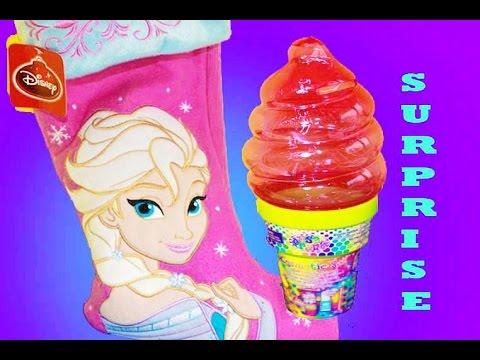 Disney Frozen SURPRISE CHRISTMAS STOCKINGS + Lisa Frank Toys