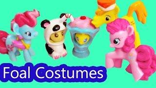 MLP Foal Halloween Costumes Cake Family My Little Pony Pinkie Pie Pound Pumpkin Dazzle Playdoh