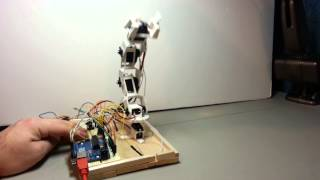 Trainable Robotic Arm
