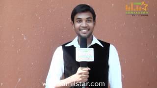 Aadhish at Kottampatti Thodakka Palli Movie Launch
