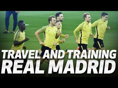 Video: BEHIND-THE-SCENES | Spurs prepare for Real Madrid clash
