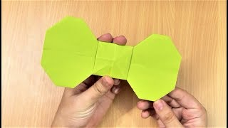 Learn how to make a simple and easy origami paper bow.For more Origami / Paper Folding Craft Ideas, Videos & Tutorials, SUBSCRIBE to : http://www.youtube.com/CraftAndArtSchoolConnect with us on :FACEBOOK - https://www.facebook.com/CraftAndArtSchoolPINTEREST - http://www.pinterest.com/DIYCraftAndArtINSTAGRAM - http://www.instagram.com/craftandartschoolMusic by :Where I am From by Topher Mohr and Alex Elena.Downloaded from Youtube Audio library.