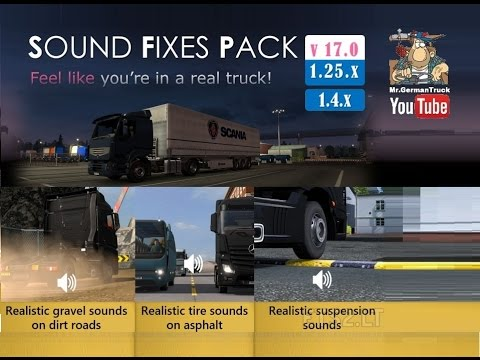 SOUND FIXES PACK v17.9.1 for ATS