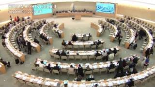 Leila Swan's statement for Human Rights Watch at the United Nations Human Rights Council in Geneva, Switzerland on...