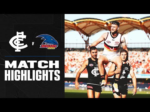 Carlton v Adelaide Highlights | Round 17, 2020 | AFL