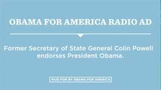 """Endorsed"" - Obama for America Radio Ad"