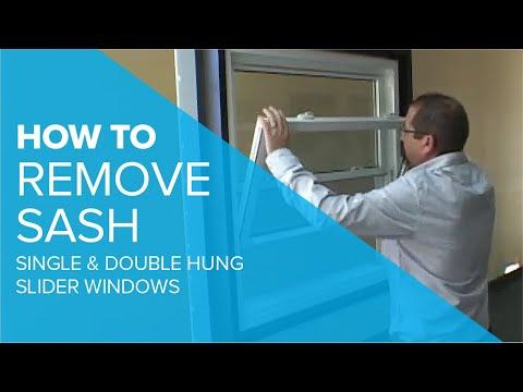 Removing Sash