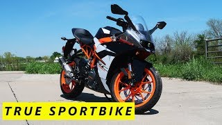 3. 2017 KTM RC390 Review and Initial Impressions
