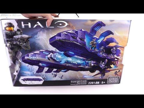 Mega Bloks Halo Covenant Spirit Dropship unboxing
