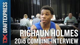 Richaun Holmes 2015 NBA Draft Combine Interview