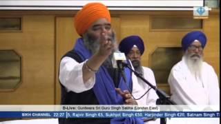 20140914 2158   829   Sikh Channel   D Live  Giani Paramjit Singh Ji