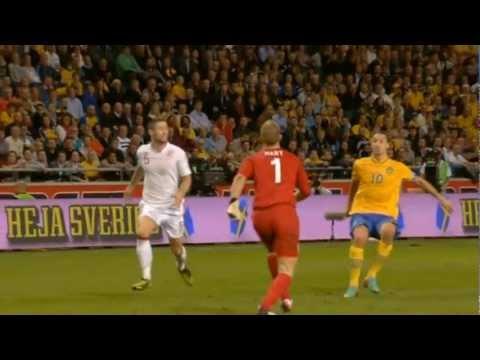Zlatans cykelspark när han gör sveriges 4-2 mål mot England.