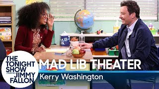 Video Mad Lib Theater with Kerry Washington MP3, 3GP, MP4, WEBM, AVI, FLV Januari 2019