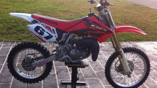 9. Honda CR85 Walkaround & Start-up