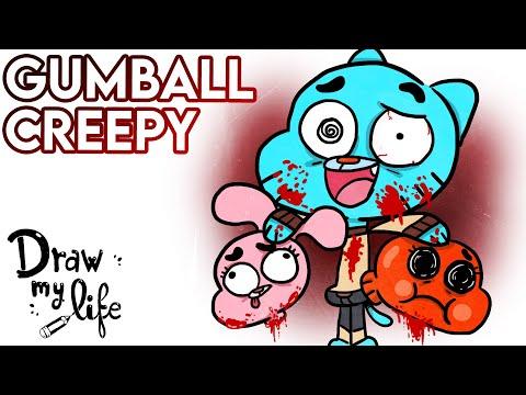 El INCREÍBLE MUNDO de GUMBALL: el EPISODIO PERDIDO (Creepypasta) | Draw My Life en Español
