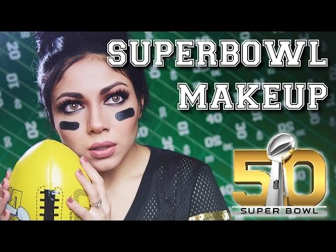 Paint That Face! Superbowl Make Up! What's Your Style?