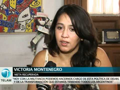 """Nieta recuperada: """"Los que desprestigian a los jovenes son los que marcaban a nuestros padres"""""""