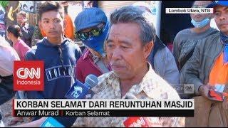 Video Kesaksian Korban Selamat dari Reruntuhan Masjid Gempa Lombok MP3, 3GP, MP4, WEBM, AVI, FLV Agustus 2018