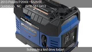 4. 2013 Polaris P2000i  for sale in Goldsboro, NC 27534 at Perf