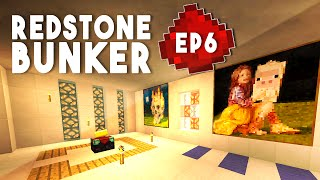Let's Build: REDSTONE BUNKER EP6 - Armory, Defense System (A Redstone Tutorial Series)