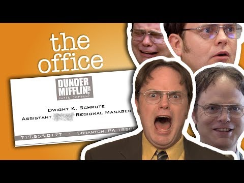 Dwight Schrute: Assistant (To The) Regional Manager - The Office US