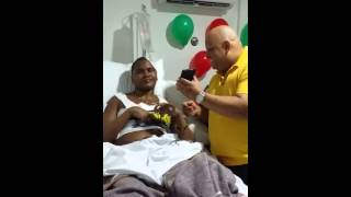 José Carmona recibe mensaje de su ex rival