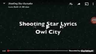 Video Shooting star lyrics by owl city download in MP3, 3GP, MP4, WEBM, AVI, FLV Februari 2017