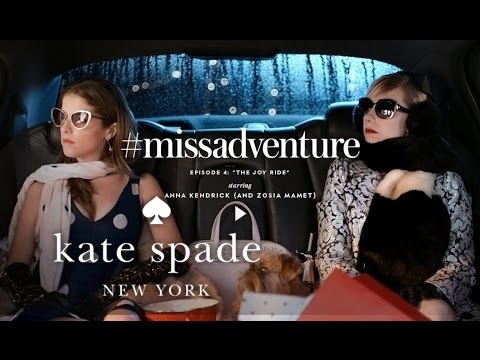 Kate Spade New York 'Joy Ride' Commercial with Zosia Mamet