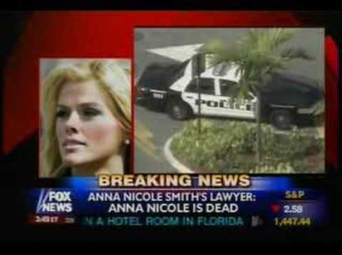 Anna Nicole Smith dead death died News Report